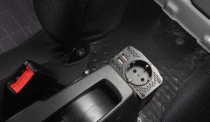 230-V-Steckdose / USB-Anschluss