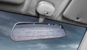 Rückspiegel mit integrierter Rückfahrkamera